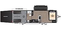 2019 Keystone Impact Vapor Lite 28V