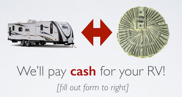 Cash for your RV Today!
