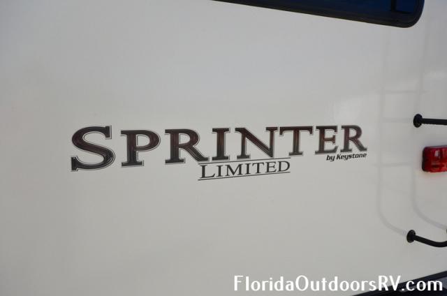 2019 Keystone Sprinter Limited 3341FWFLS