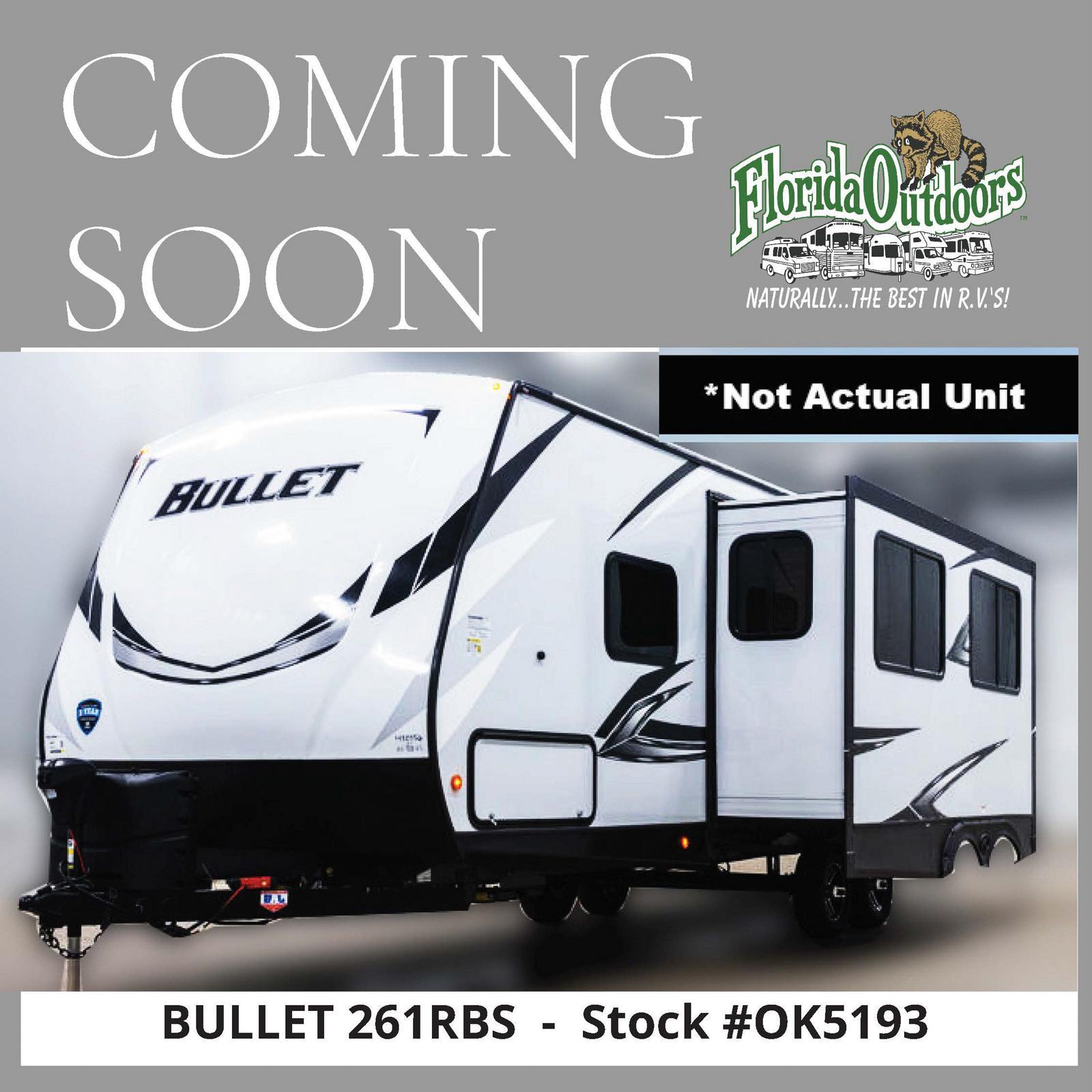 2021 Keystone Bullet 261RBS